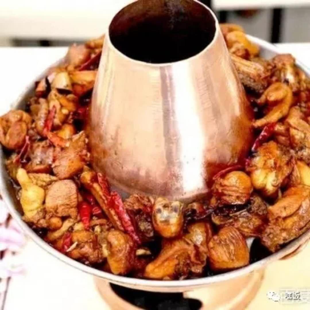老沧州的特色火锅鸡