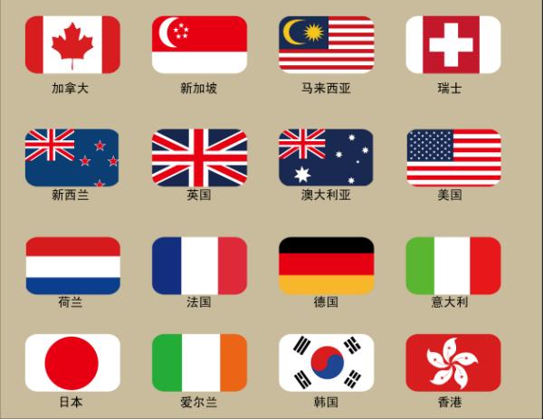 新加坡国旗图案