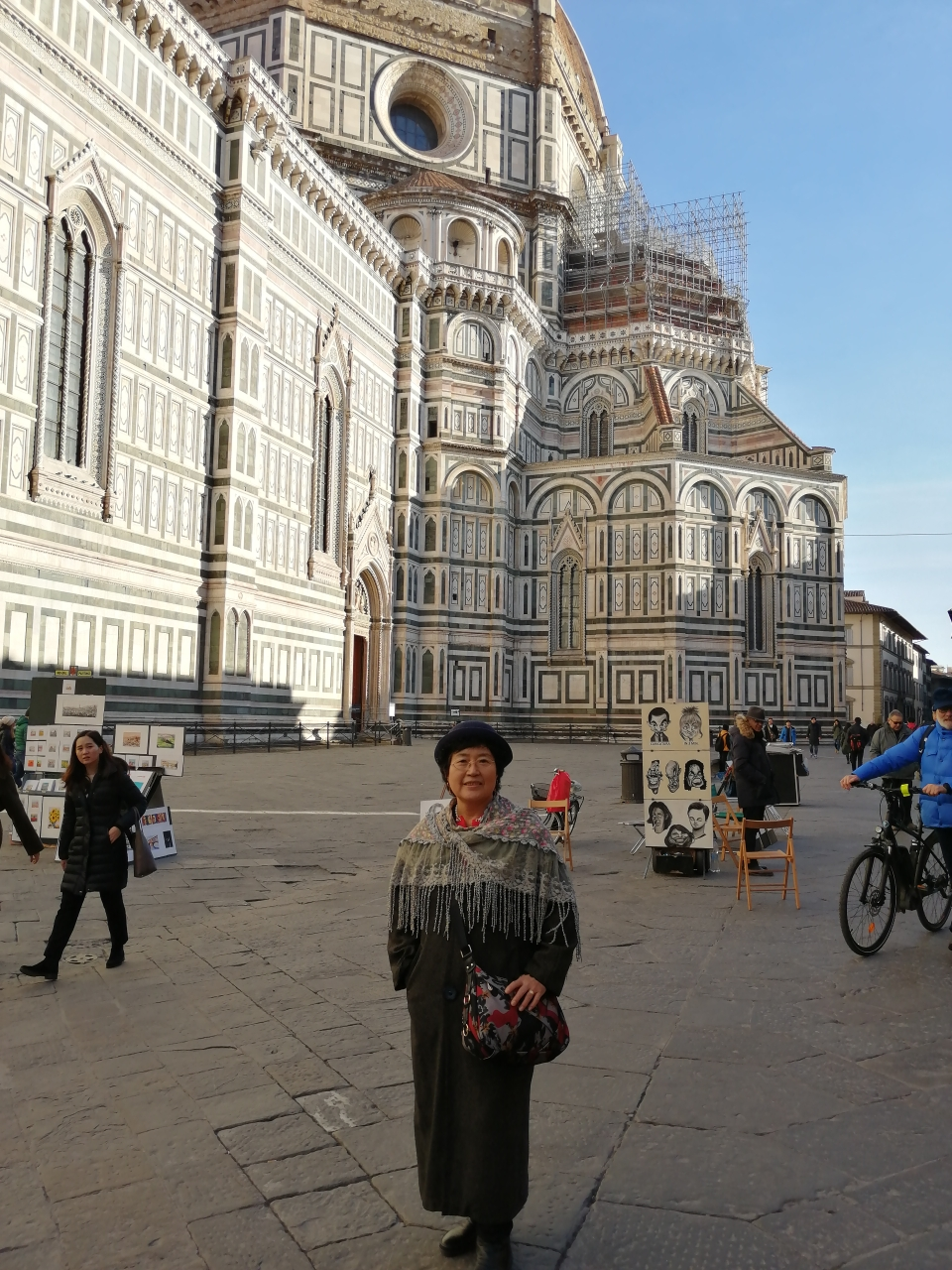 """""""浓郁的文化氛围让佛罗伦萨的大街小巷,广场教堂,或者博物馆,美术馆"""