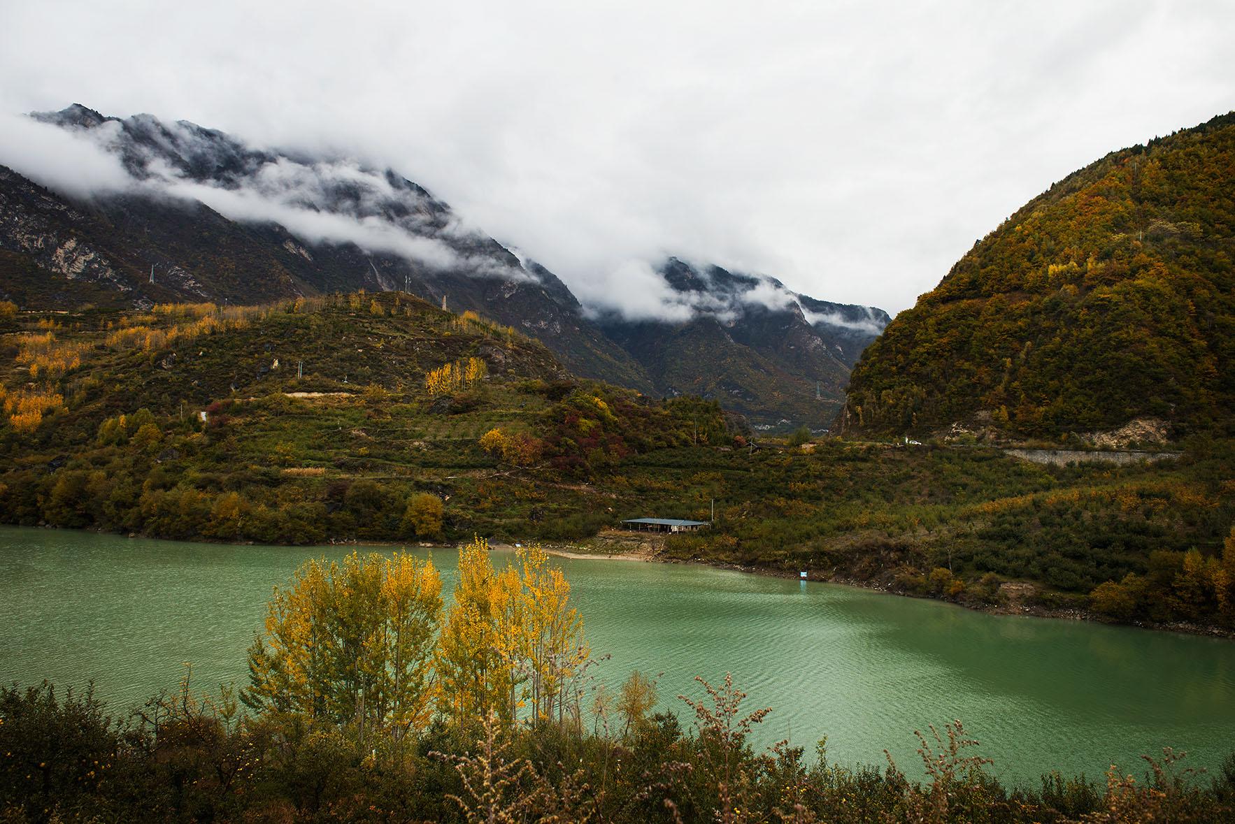 宁波十月自然风景