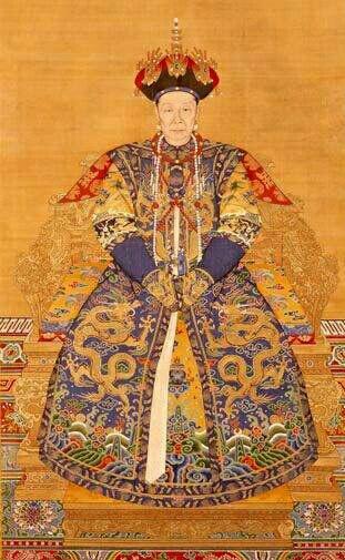 宋~元~明~清皇后肖像权图集图片