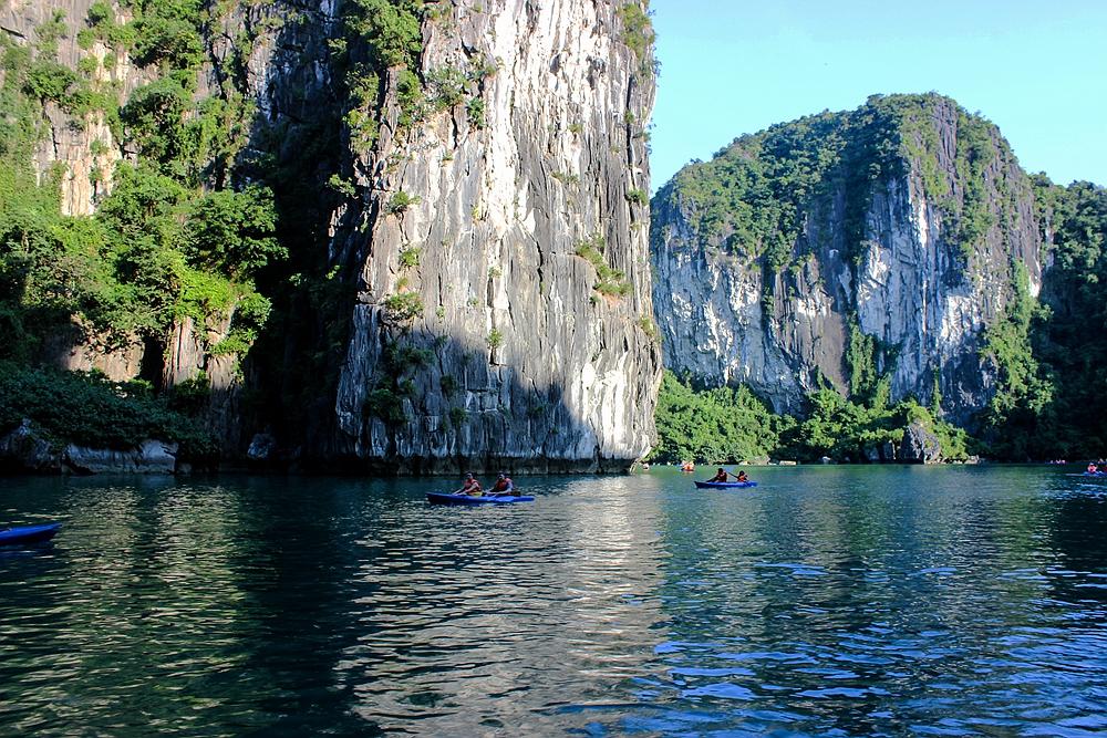 【越南,北海之旅】下龙湾月亮湖一处绝色风景