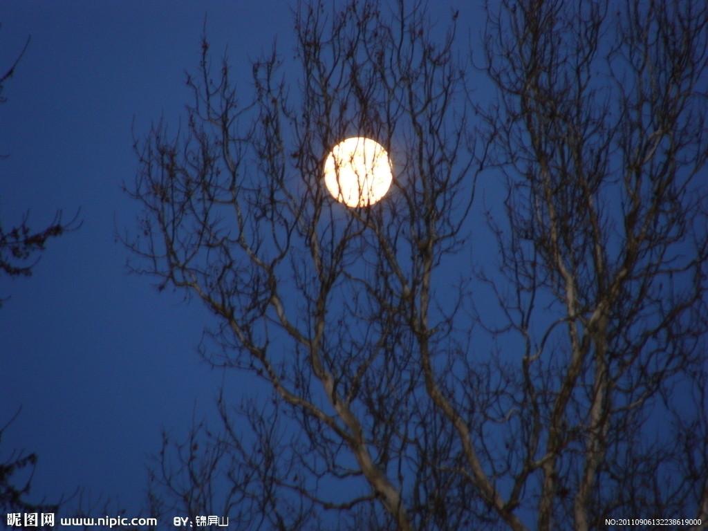 月亮渐变步骤图片