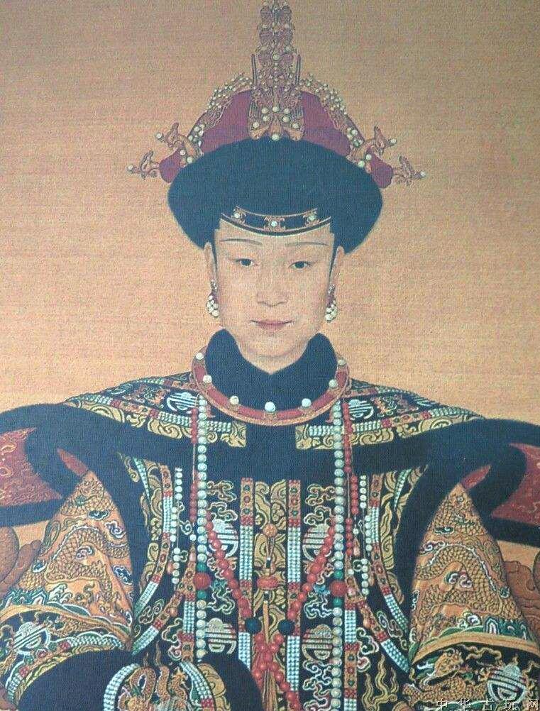清代历朝皇后画像图片
