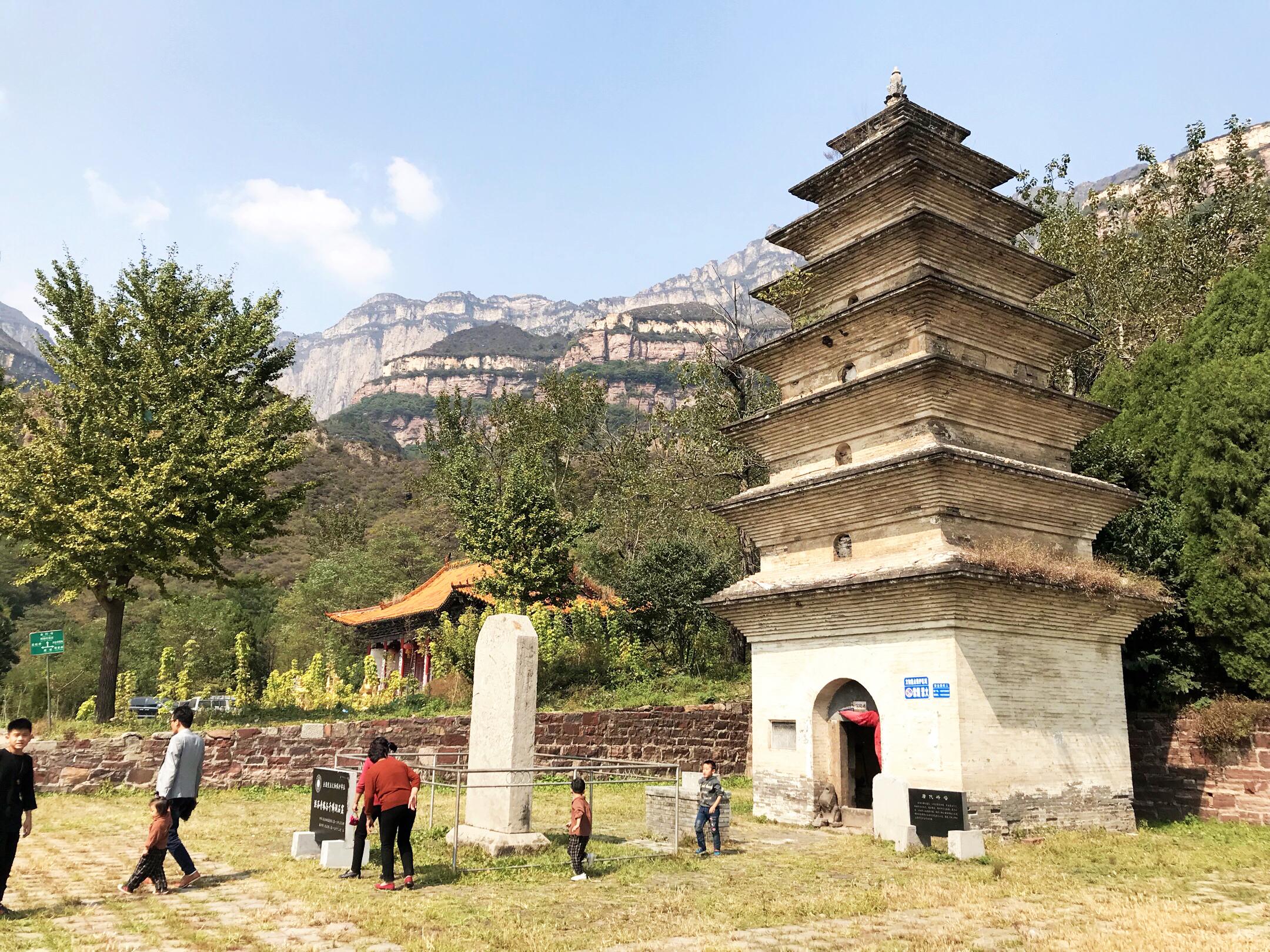 安阳标志之一     全国重点文物保护单位,唐代砖塔