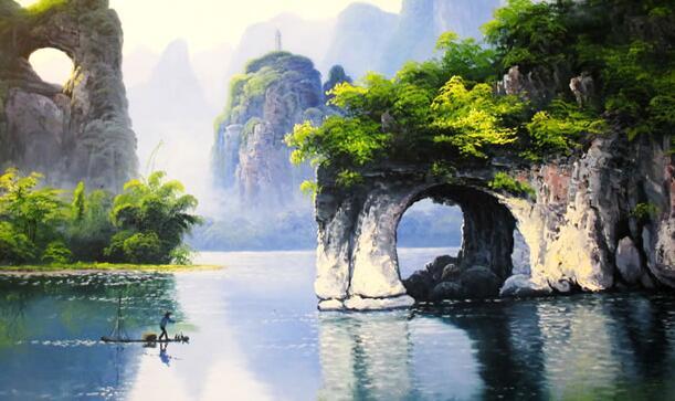 《桂林山水歌》作者:贺敬之 \ 诵读:过岩松图片