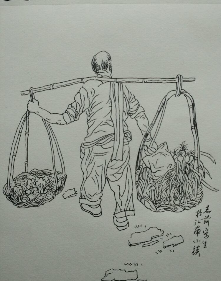 多少情境烟雨中——齐志前江南采风速写作品